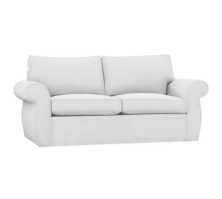 Pearce Slipcovered Grand Sofa Down Blend Wrapped Cushions
