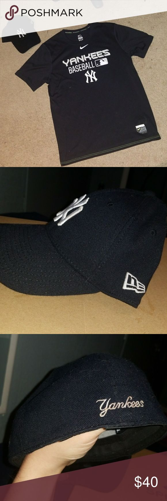 SET nike new york Yankees shirt plus new era hat Selling both together  will not seperate!!  Shirt nike size medium excellent condition  Hat is 39thirty elastic new era size medium/large great condition also   Blaze apple watch fit bit galaxy polo ralph lauren nike lacoste jordan gucci prada chanel tori burch armani versace dolce gabanna Louis vuitton calvin klein lacoste true religion lv levis northface adidas under armour yeezy leather bomber watch guess oakley raybans ray ban rayban ray…