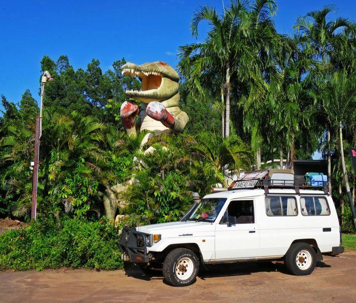 The Big Boxing Crocodile #NTAustralia #bigthings
