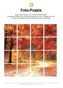 Fotopuzzle - Herbst