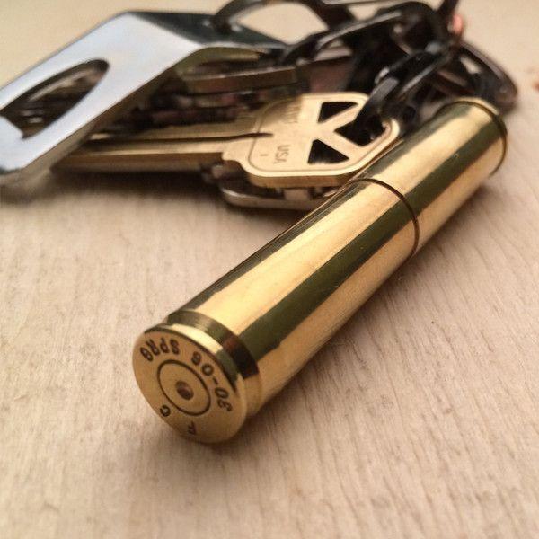 Colt 45 Bullet Casing Key Fob - Cool Material $26
