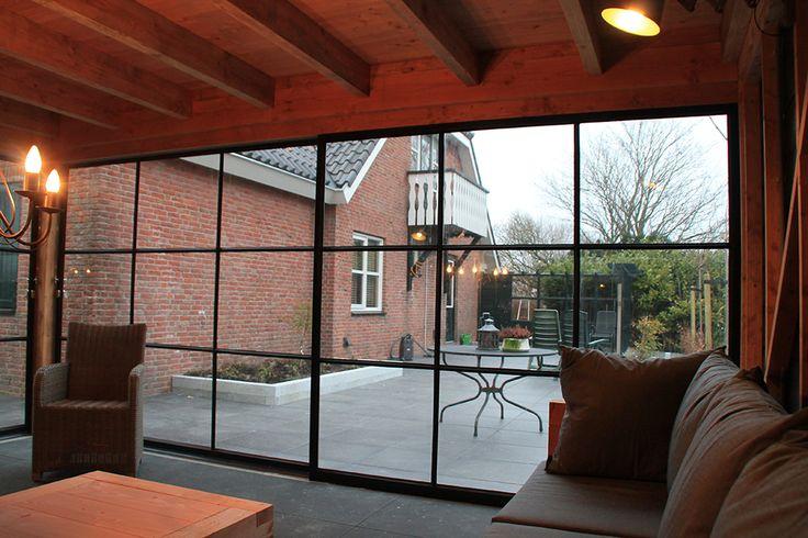 De Tuyn-kamer | Maatwerk | Stalen kozijnen | Lounge kamer | Jacht kamer | Bijtenverblijfen | Schuren