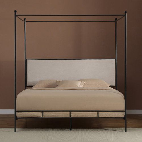Lauren King Metal Canopy Bed  http://www.furnituressale.com/lauren-king-metal-canopy-bed/