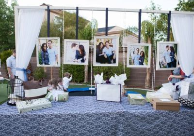 Traditional Gift Ideas Presented In An Outdoor Setting See More Bridal Shower Gift Ideas At