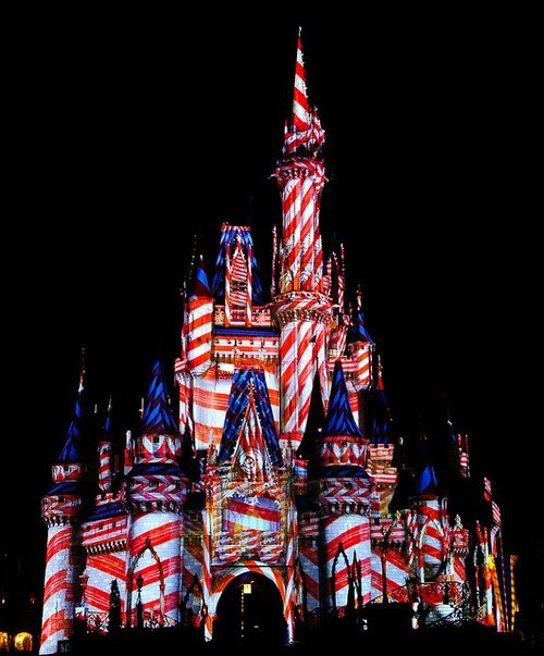 4th of july at disney world 2012
