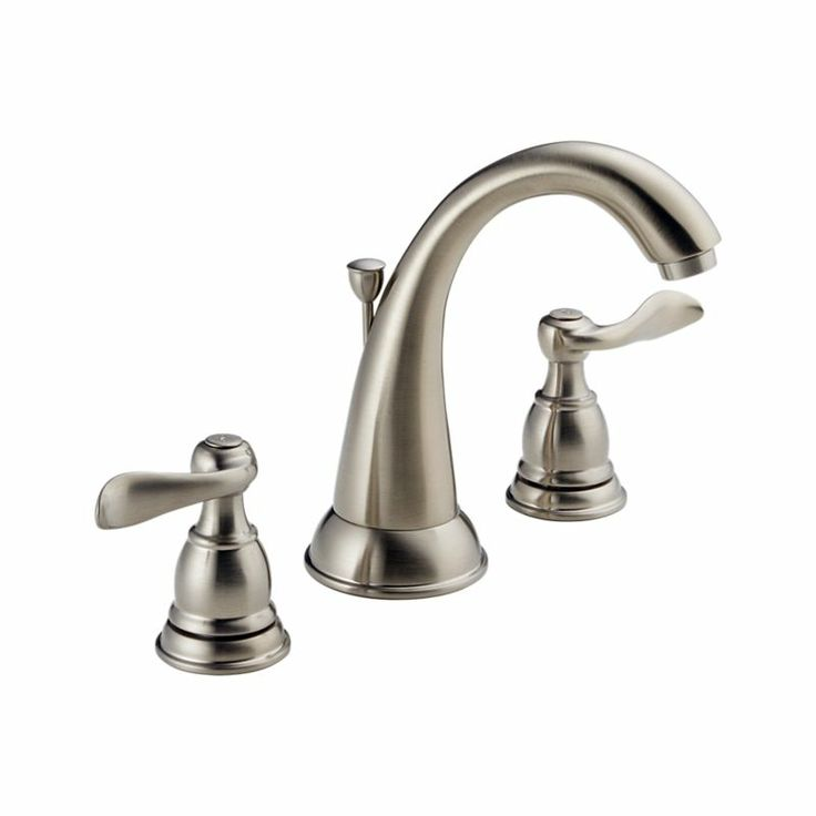 35996LF BN Windemere Two Handle Widespread Lavatory Faucet : Bath Products  : Delta Faucet