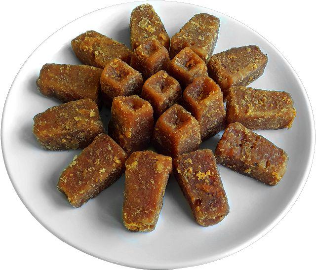 Jaggery - Godda Povu - Sweet melted jaggery beaten rice - A simple, incomparably delightful traditional Konkani dish - Mouthwatering Food Recipes