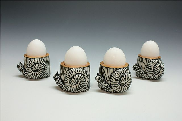 Snail Egg Cups -