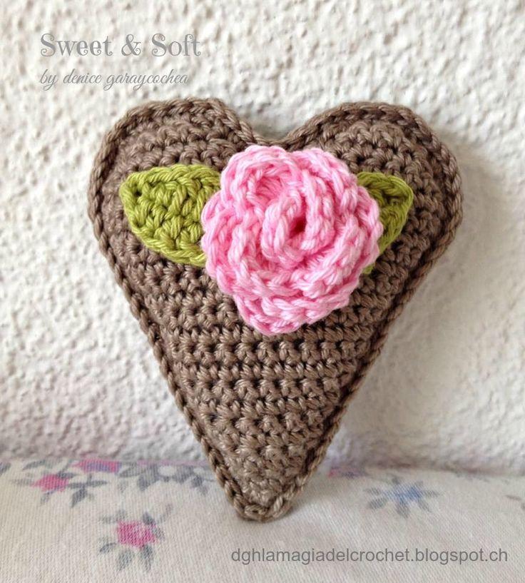 Corazón Vintage a Crochet