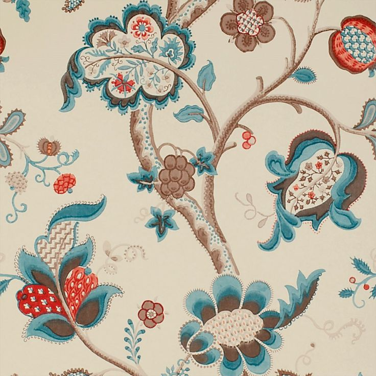 Sanderson - Traditional to contemporary, high quality designer fabrics and wallpapers | Products | British/UK Fabric and Wallpapers | Roslyn (DVIWRO105) | Vintage Wallpapers