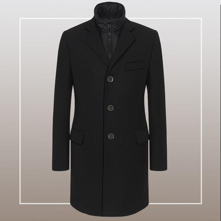 The Fay Double Coat: versatile, elegant, functional.
