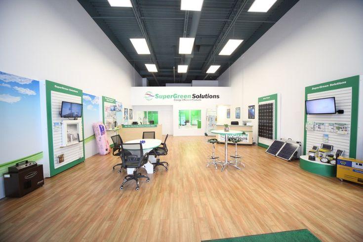 SuperGreen Solutions Showroom in Edmonton