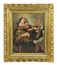 The jovial friar violinist, 1937