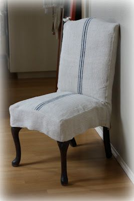 Lilacs and Longhorns: Dining Chairs Re-do {Slipcover Love} & My Fabulous Deal