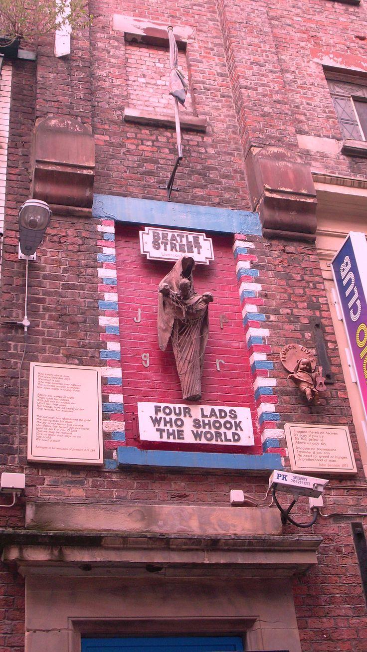 Liverpool Beatle Street #TheCrazyCities #crazyLiverpool