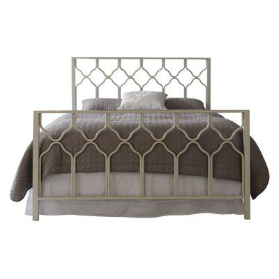 Willa Arlo Interiors Hasse Open Frame Headboard Panel Bed Bed
