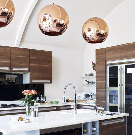 Prairie Perch: Statement Lighting in the Kitchen