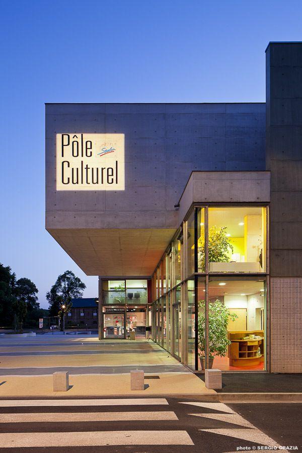 Sedan Cultural Center by Richard + Schoeller Architectes, Sedan, France - 2012