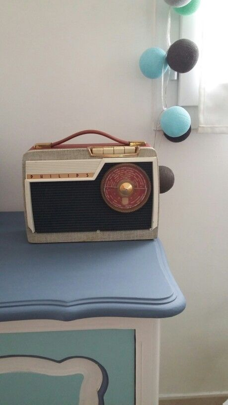 Vintage - Poste radio - brocante