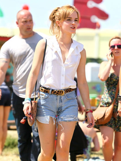 Love it!Chic Outfit, Fashion, Casual Summer, Summer Outfit, Street Style, Emmawatson, Emma Watson, Music Festivals, Festivals Looks