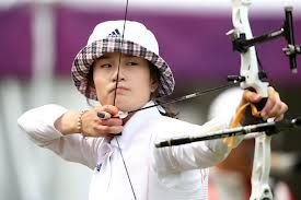 Ki-Bo-Bae World #1 female archer #olympicgold #concentration #accuracy #archery #talent #athelete