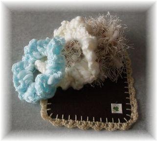 初心者向け 編みシュシュ♪の作り方 編み物 編み物・手芸・ソーイング アトリエ 手芸レシピ16,000件!みんなで作る手芸やハンドメイド作品、雑貨の作り方ポータル