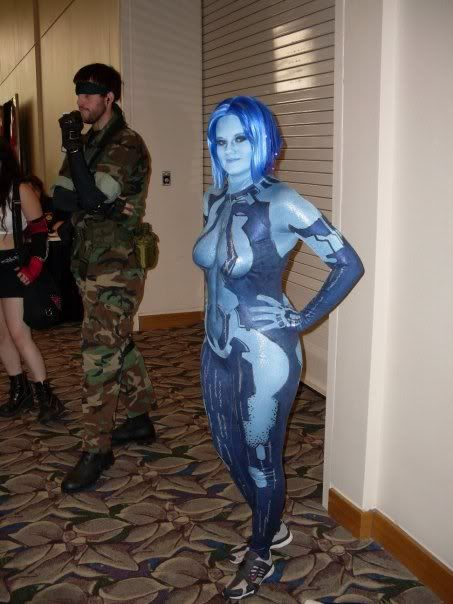 Cortana costume... Hopefully my next Halloween outfit ...