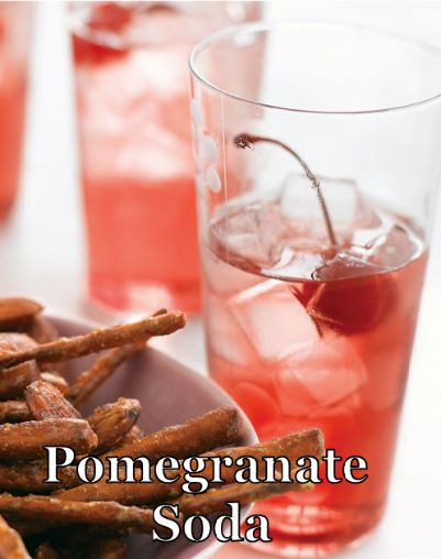 Love your liver this Valentine's Day and try this week's Alternative Friday drink: Pomegranate Soda.   Our testers said they enjoyed how light the drink was. Try the Promegranate Soda for yourself and tell us what you think