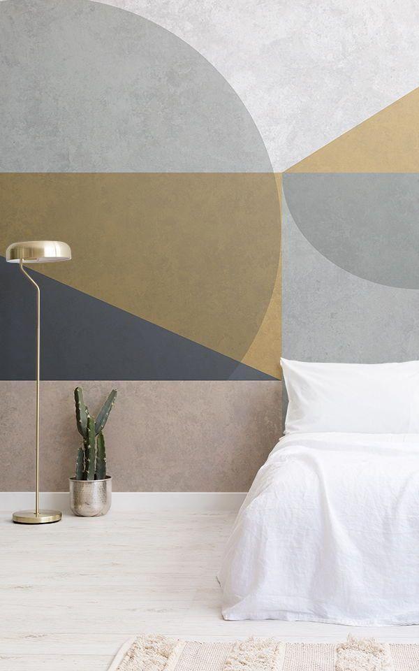 Best Cool Geometric Bedroom Ideas Created With Grey Geometric 400 x 300