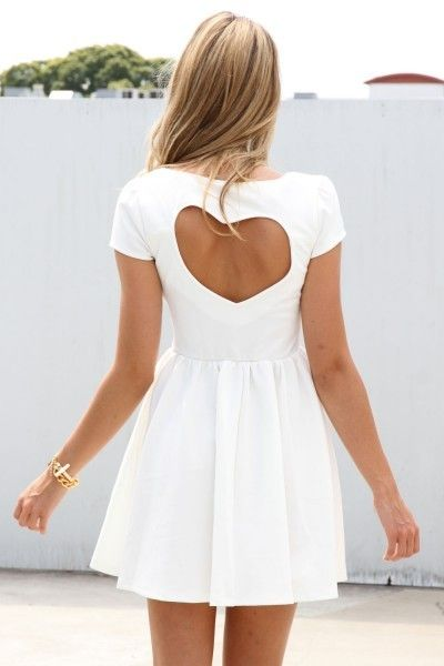 Heart back dress. If only I could pull that off.:)