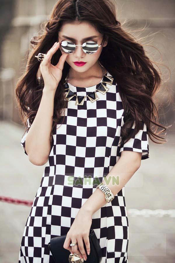 Đầm Caro Style sành điệu, cá tính khuyến mãi giảm giá rẻ nhất 139.000 VND