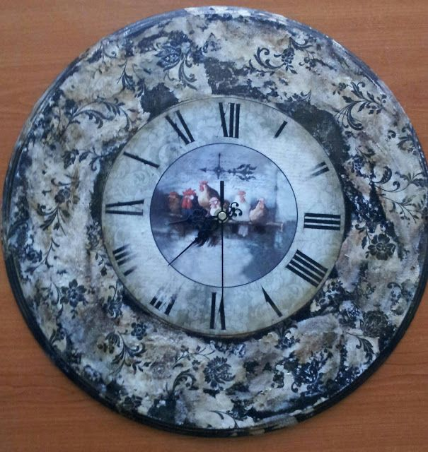 BellesCreations.gr: Ρολόι τοίχου 40 cm