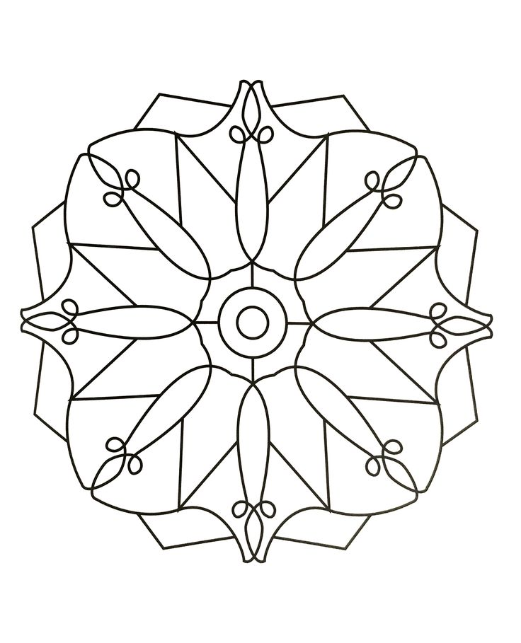 Display Image Mandalas To Print Free