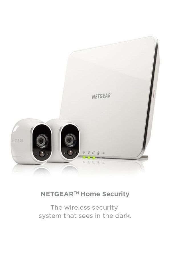 View our smart range. Take control of  your home.   Control your security remotely with the Netgear Arlo Smart Home Security System. Night vision technology means you can monitor your home wirelessly, even in darkness.