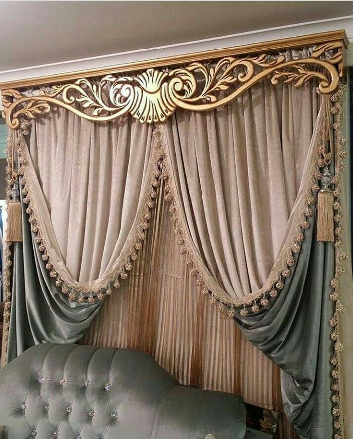 Pin By Dina On ستائر Curtain Designs For Bedroom Luxury