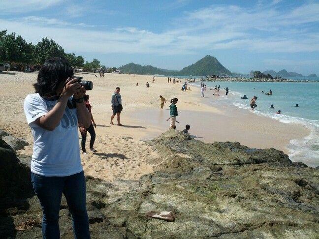 Kuta Beach, Lombok, West Nusa Tenggara