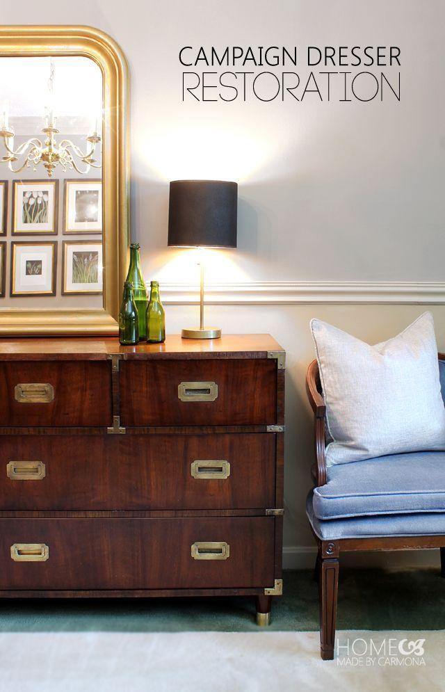 Stunning campaign dresser! Plus great restoration tips!