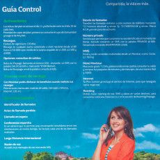 Movistar Prepaid Cell Phone Plan User Guide Page 3 Brochure