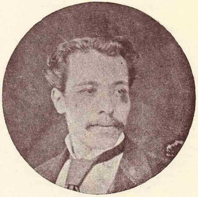 Sargento Mayor Armando Blondell, Tercer Jefe del Batallón Artesanos de Tacna,muerto en combate, Arica, 7 de junio de 1880
