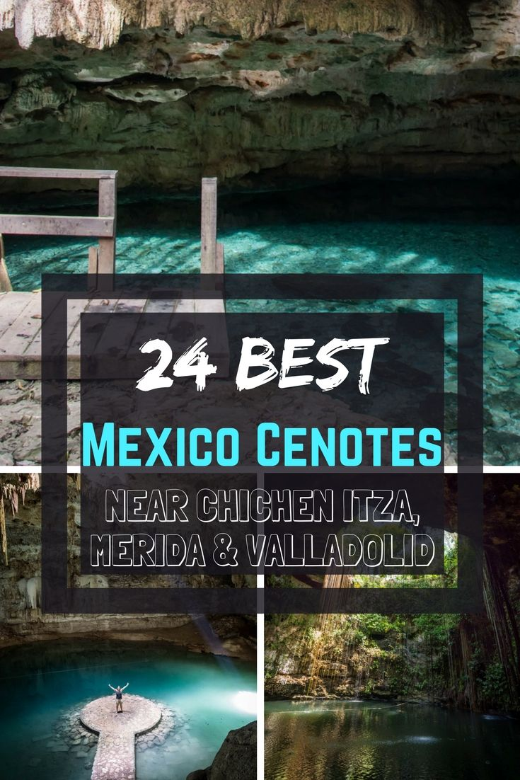 Yucatan Cenotes Map: Visit the crystal waters of the Yucatan Mexico. The best cenotes near Chichen Itza, Uxmal, Merida Cenotes, Valladolid Cenotes, Cuzama, Homun and more! Download our free Yucatan Cenotes Map with accurate locations. Best places for Cenote snorkeling, cenote caves etc.