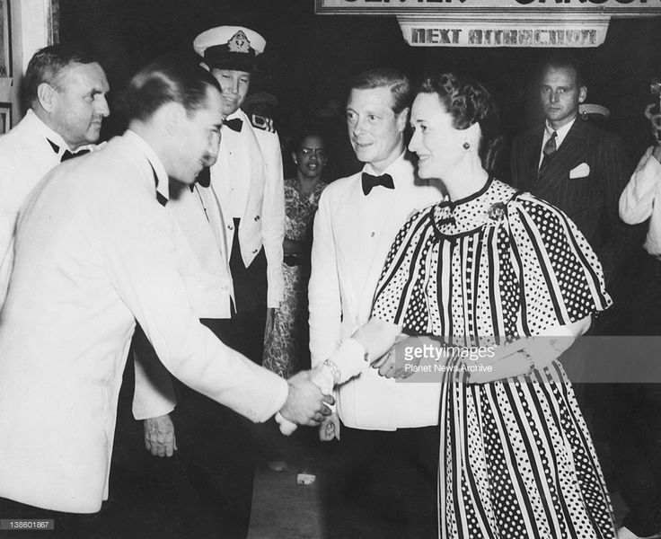 The Duke of Windsor, Governor of the Bahamas, and the Duchess of Windsor, attended a command performance of All This and Heaven Too at the Savoy Theatre, Nassau, Bahamas, for the benefit of the Bahamas Fighter Fund.