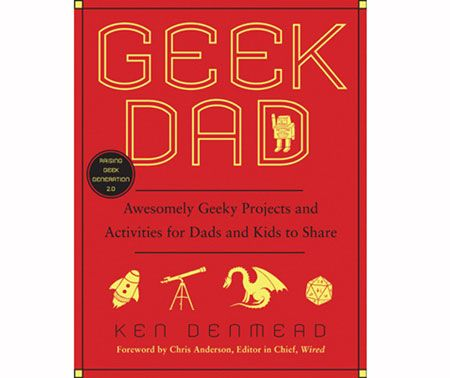 Geeky science experiments, geeky contraptions, crafts that only geeks can fully appreciate – Geek Dad is light years ahead of books on intelligent fun.