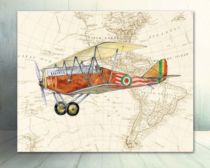 Винтажные картинки самолета