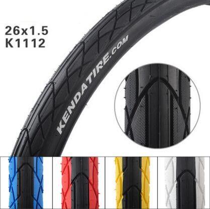 K1112 alta calidad neumático de la bicicleta/mtb 26*1.5 inch neumáticos de bicicleta piezas de la bici de montaña de neumáticos de bicicleta de Carretera accesorios 5 colores