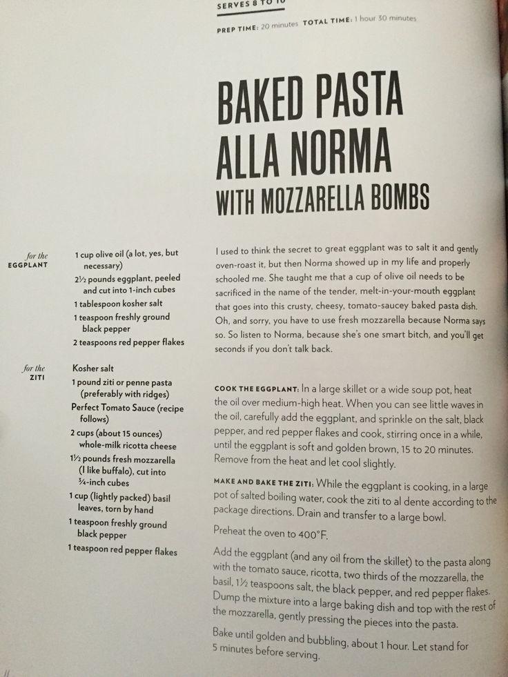 Chrissy Teigen's Baked Pasta Alla Norma