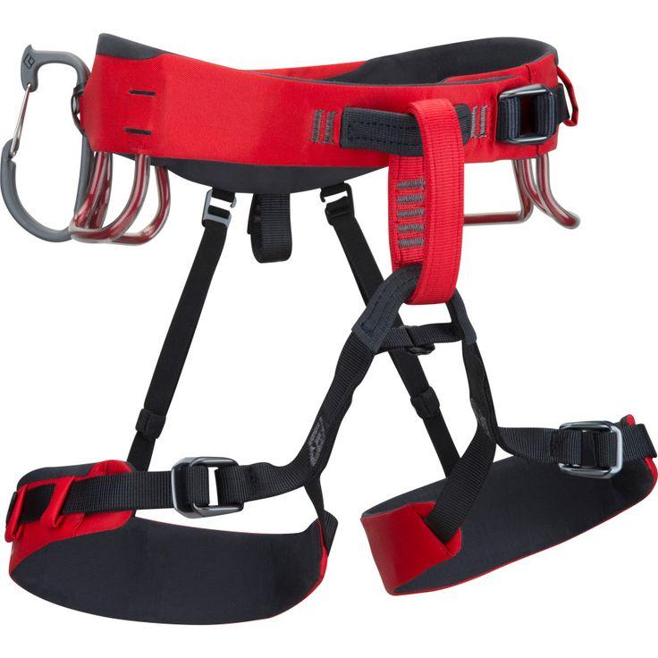 Black Diamond Xenos HarnessFire Red
