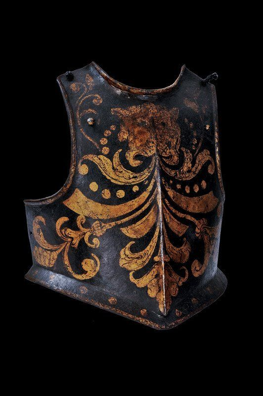 A papal guard's breast plate, 17th century.