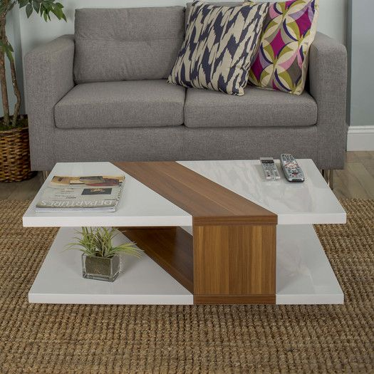 matrix bianca coffee table - Design Living Room Tables