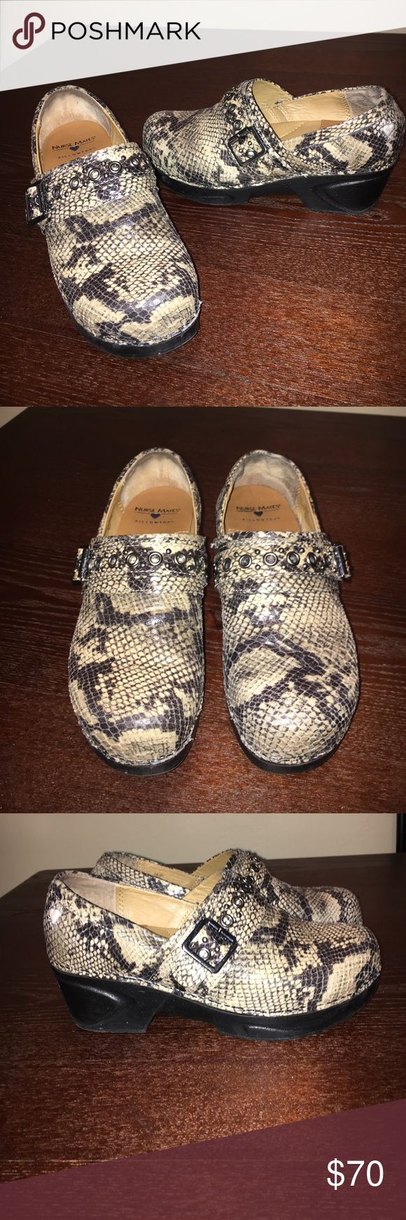 Nurse MatesPillowTop Shoes Be Stylish While you Work! Very Lightly Worn Nurse Mates Pillow Top Shoes Nurse Mates Shoes Mules & Clogs