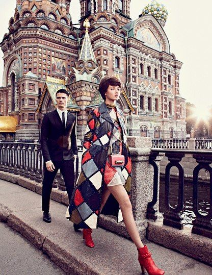 Shooting with Alexi Lubomirski in St. Petersburg